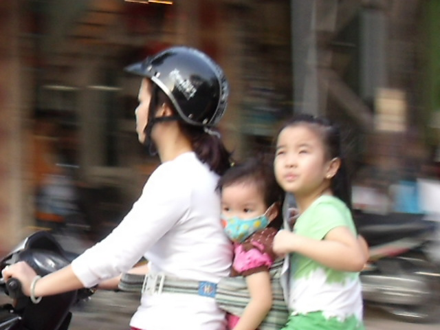 Mother and babies - Ha Noi